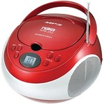 Naxa CD Player with AM/FM/Stereo - Red