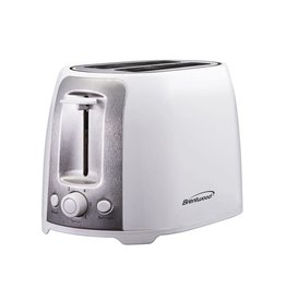 Brentwood 2 Slice Toaster White