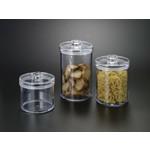 H-7036-L Acrylic Round Cookie Jar Large