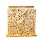 Bencher Holder Lucite  Gold Flakes