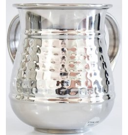Washing Cup Stainless Steel Hammered