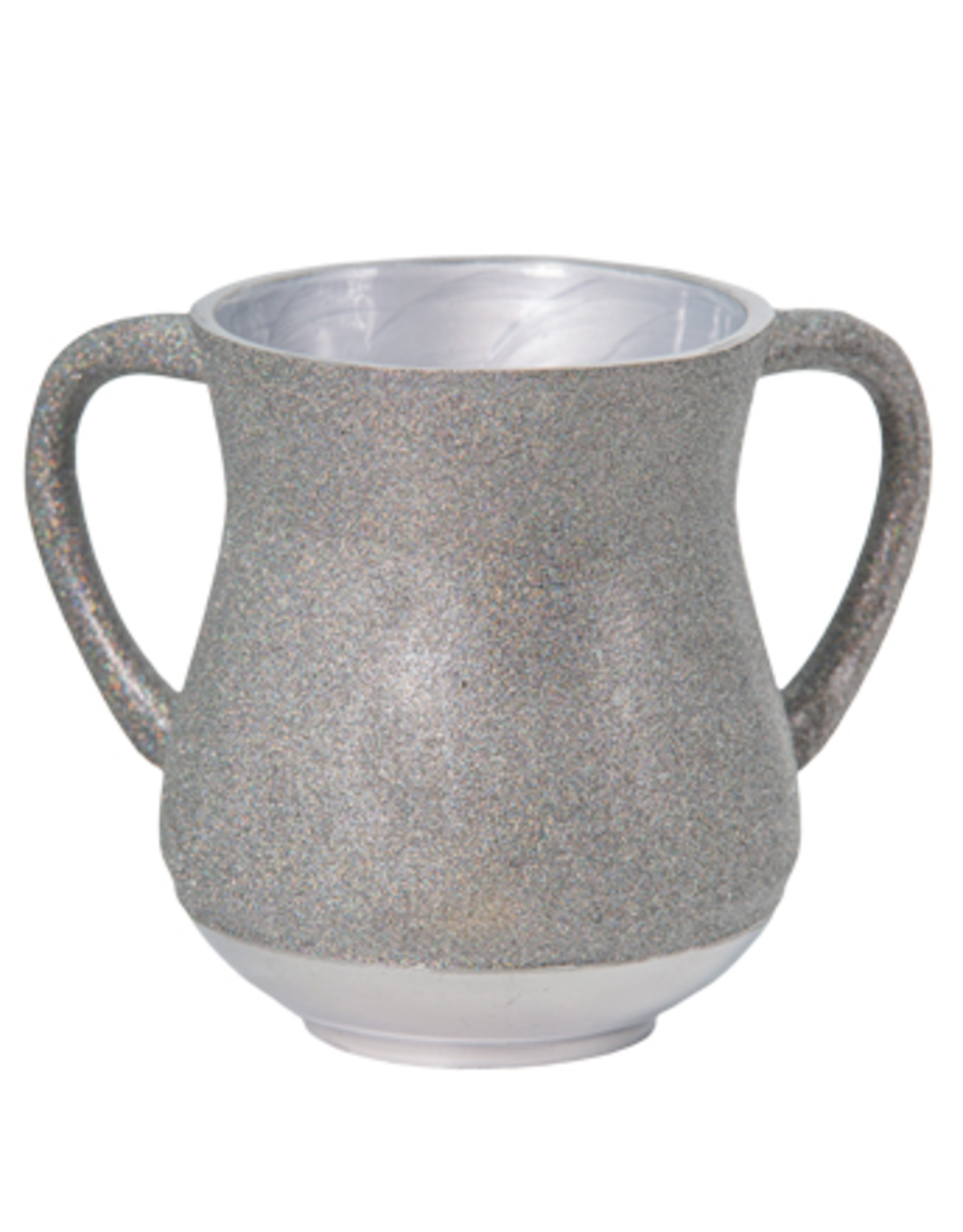 Aluminum Washing Cup 13 cm - In Colorful & Silver Glitter coating