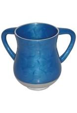 50421 Aluminum Unbreakable Washing Cup 13.5 Cm- Blue Color