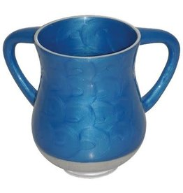 50421 Aluminum Unbreakable Washing Cup 13.5 Cm- Blue Color