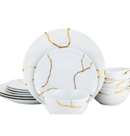 Storm Dinnerware Service For 4