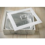 Marble Lucite 9x13 Pan Holder With Cover