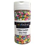 Celebakes Daisy Shapes Edible Confetti, 2.4 oz.