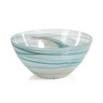 tk-123 Lagoon Alabaster Glass Bowl-Large,
