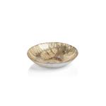 "TK-158 Golden Pearl Metallic Watercolor Serving Bowl-10.75"",Mn"