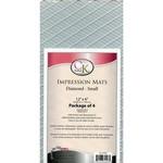 small diamond impression mat