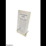 Presented Touch Hadlakas Neiros Geometric Gold Glitter Border Black Print