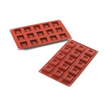 Flexible Silicone Bakeware, Inset Square