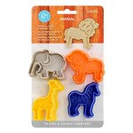 0498 Pastry & Cookie stamp animal 4 pc