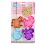 BABY PASTRY & COOKIE STAMPERS SET /4