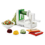 OXO OXO Good Grips 3-Blade Tabletop Spiralizer with StrongHold Suction