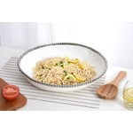 Pampa Bay Round Shallow Bowl CER-2563-W