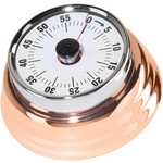 OGGI Oggi Retro 60 Minute Magnetic Timer-Copper Plated, 3-inch diameter