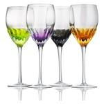 60602 Solar Goblet Mutlti Color Set Of 4