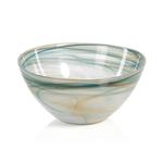 TK-122 Lagoon Alabaster Glass Bowl - Small