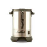 LeChef Hot Water Urn S/S 30 CUP, 6L W/ SHABBOS SWITCH