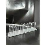 Shot Glass Set SilverLong RectangleSilver