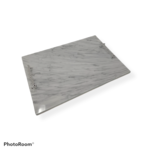 Challah Board With Silver Handles Marble