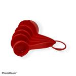 Cherle Cherle Nylon Measuring Cups Set red