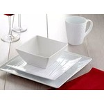 Wood Grain China Service for 4