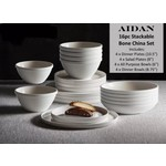 Aidan Dinnerware Service For For 4