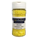 Celebakes Bumblebee Yellow Jimmies, 3 oz.