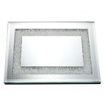 GS5531 Mirror Tray With Diamonds