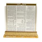 Bencher Holder Gold Lucite