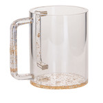 7070-G WASH CUP GOLD LUCITE