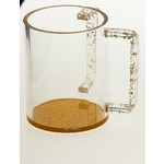 7071-G WASH CUP GOLD LUCITE