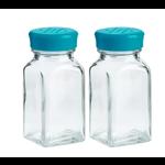 Trudeau Blue Salt Shaker