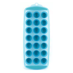 """Luciano - Ez Pop Ice Cube Tray, Asst White & Blue, 11.75""""X4.75"""" - 4"""