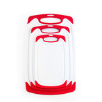 Cherle Cutting Board Red Medium