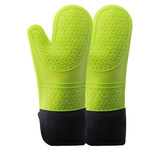 Green Silicone Oven Mitt