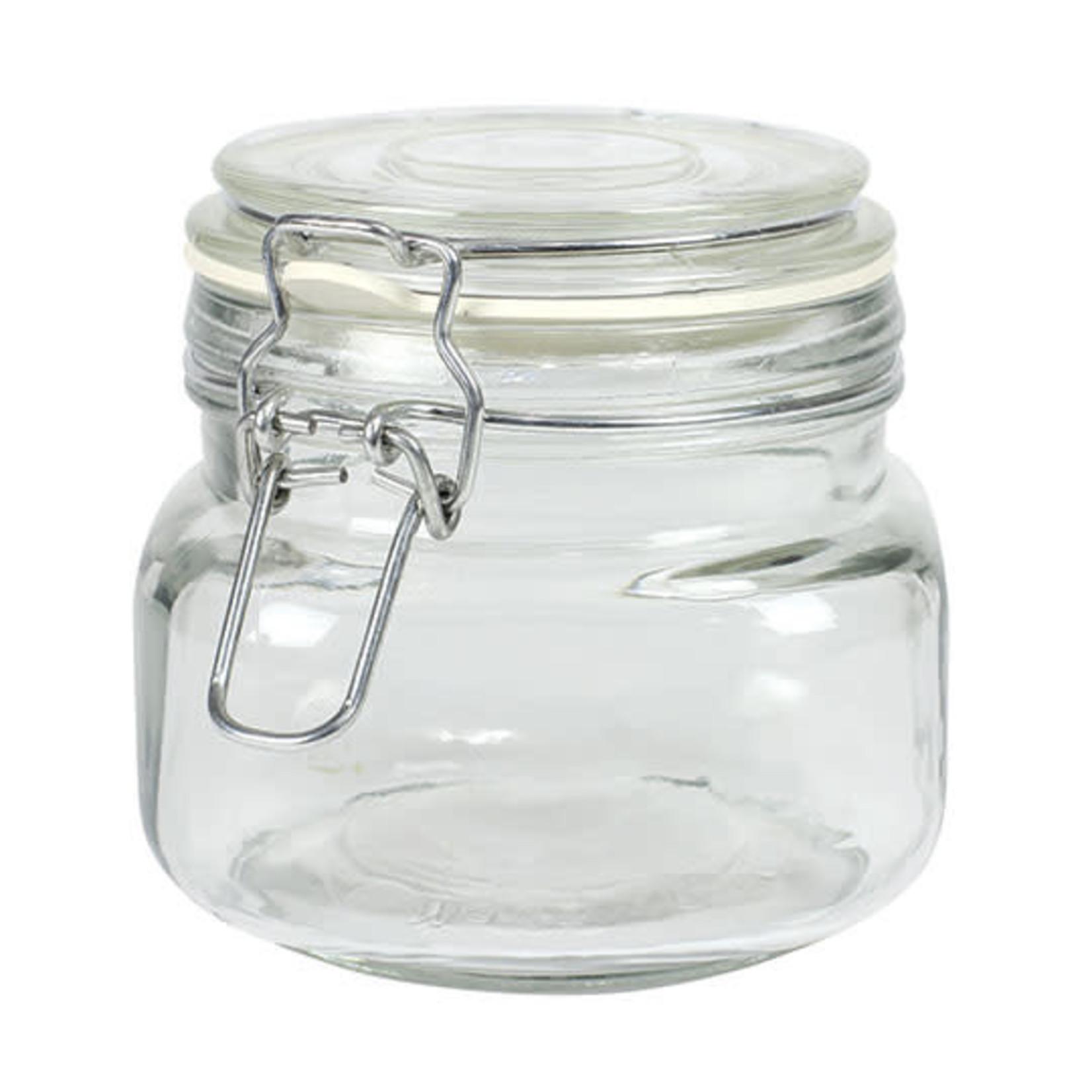17 Oz Hermez Jar With Clamp