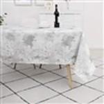 Majestic Tablecloths Tablecloth  Jacquard TC1314 - Silver splash- 60/90