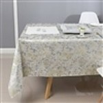 Majestic Tablecloths Tablecloth  Jacquard TC1319 - Silver / Beige Gold Blend  60/90