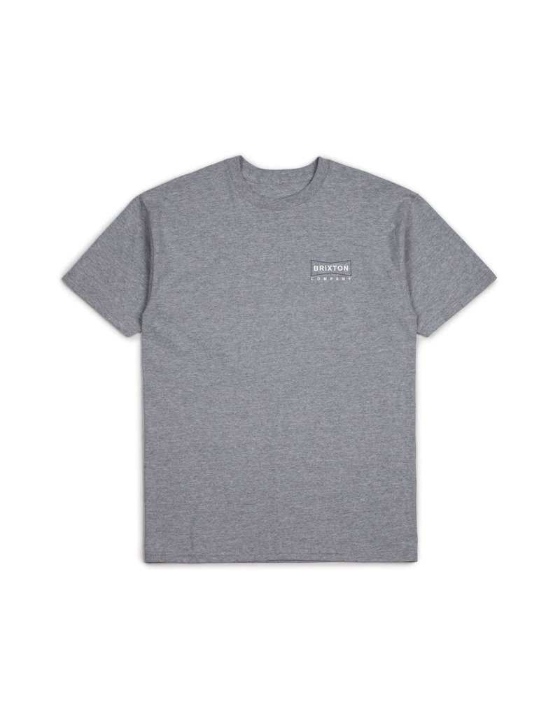 Brixton Wedge Tee - Heather Grey