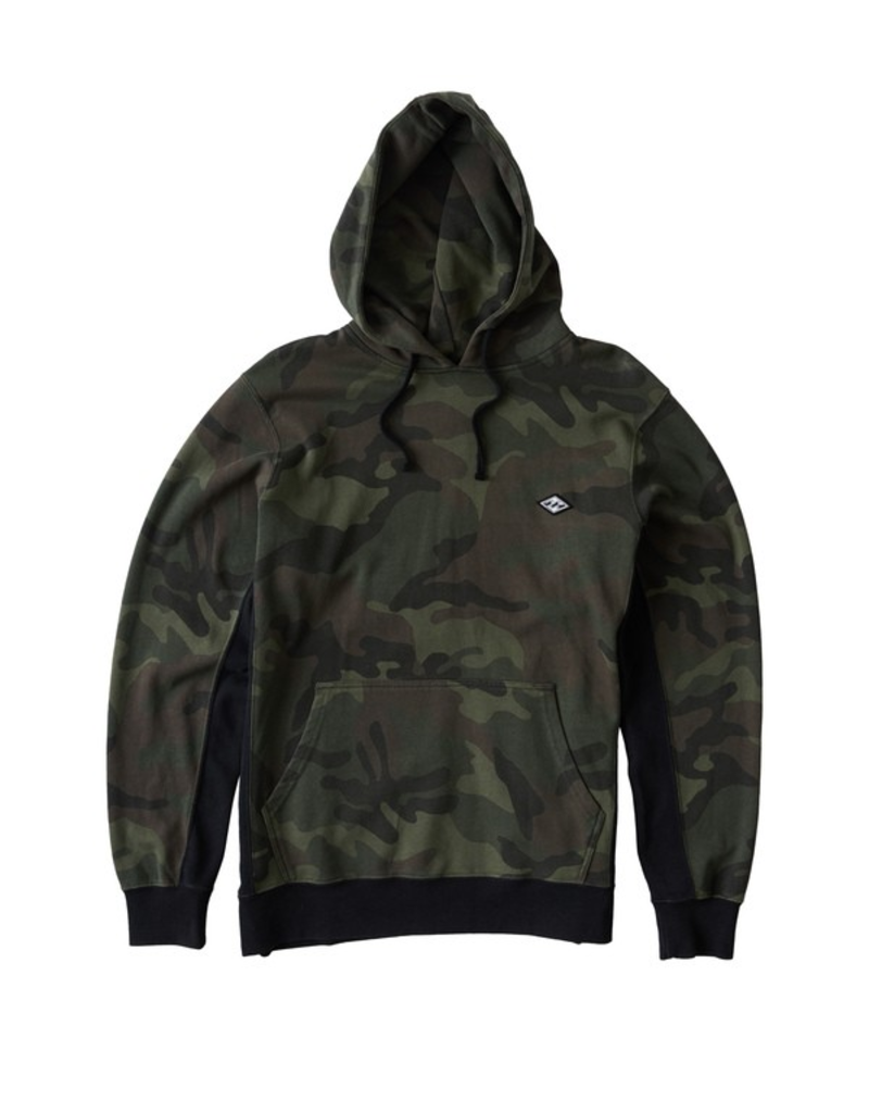 Brixton Wave Washed Pullover - Camo