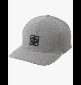 RVCA Scores Flex Fit Hat – Heather Gray