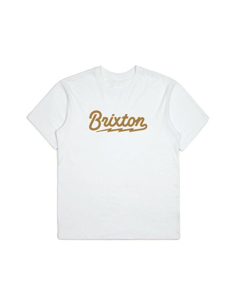 Brixton Dory Tee - White