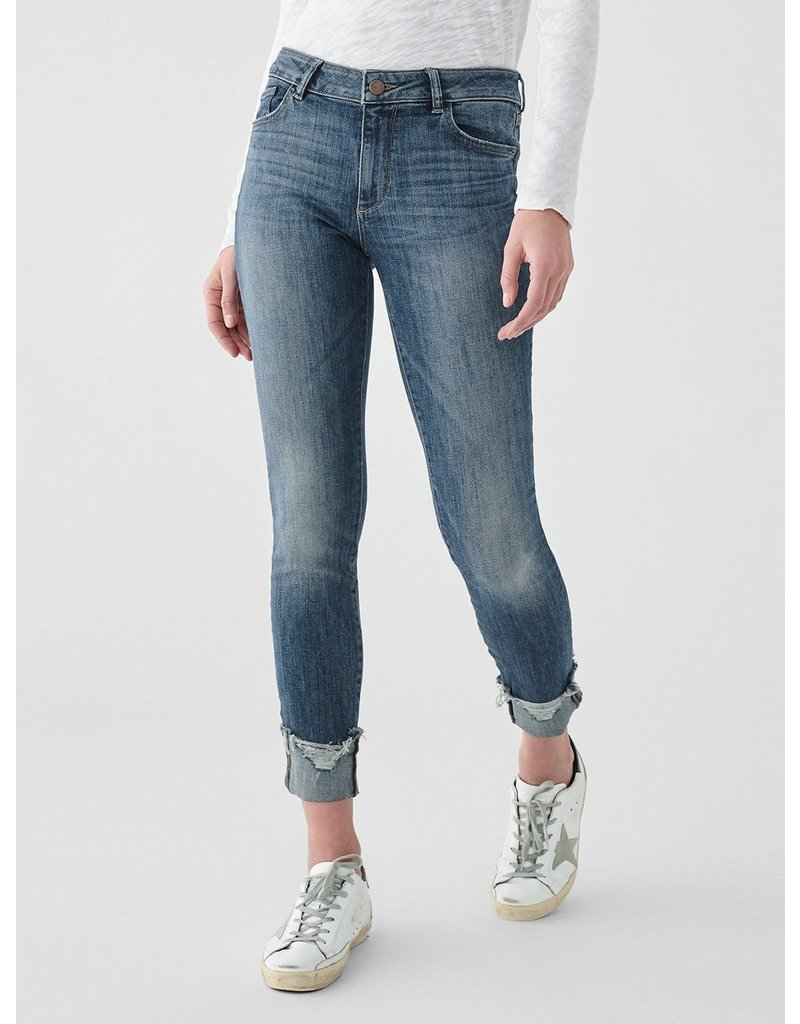 DL1961 Florence Mid Rise Ankle Skinny - Moore