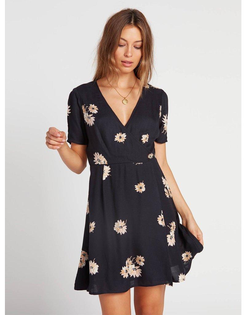 Volcom Wrapsicle Dress - Black