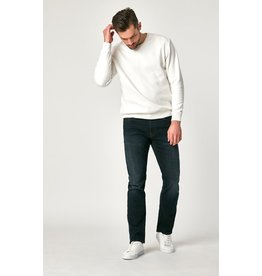 Mavi Zach Straight Leg - Deep Ink Cashmere