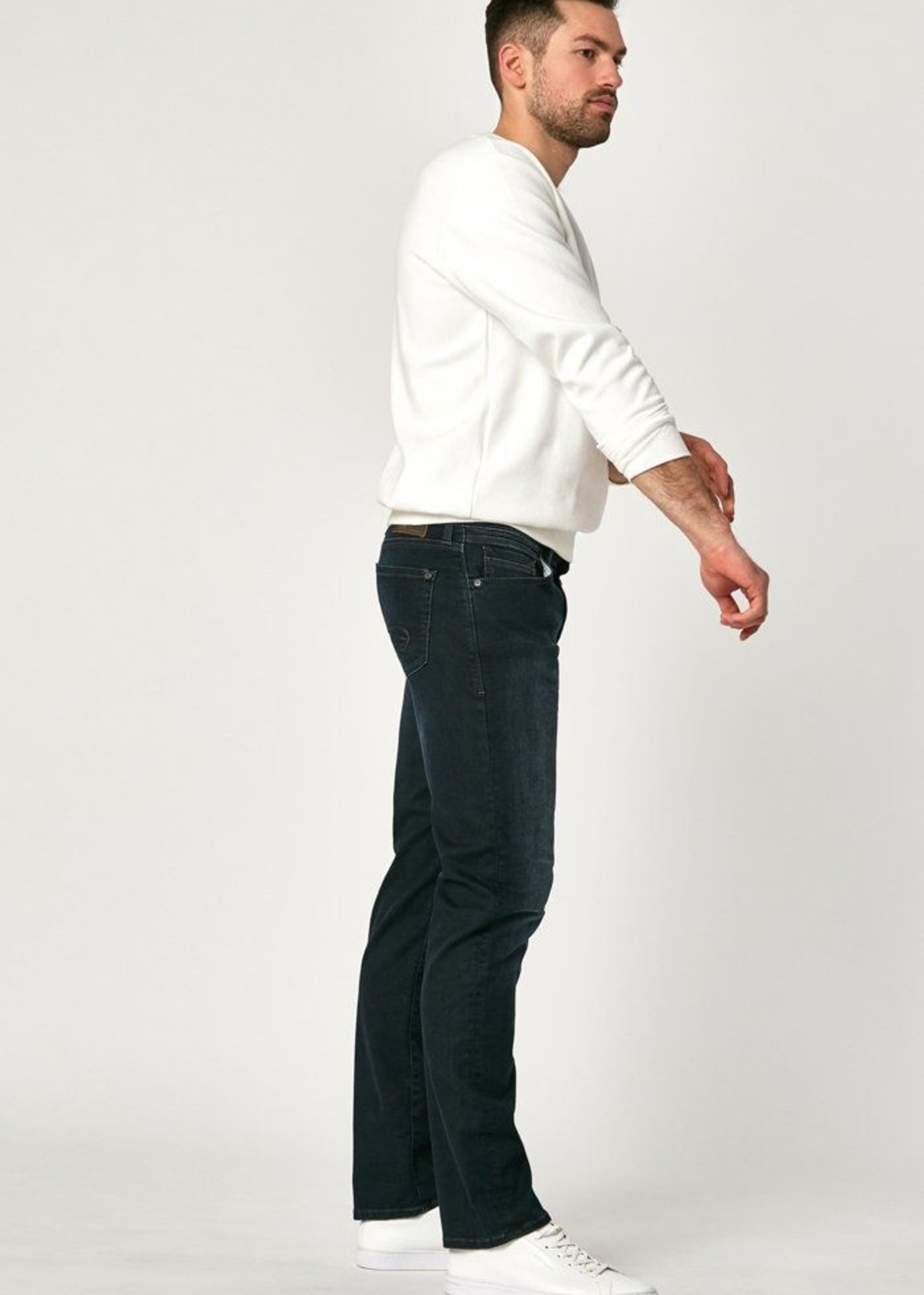 Mavi Zach Straight Leg - Deep Ink Cashmere