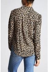 Brixton Kate Long Sleeve Woven - Leopard